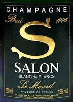 "Champagne Salon ""S"" 1996"