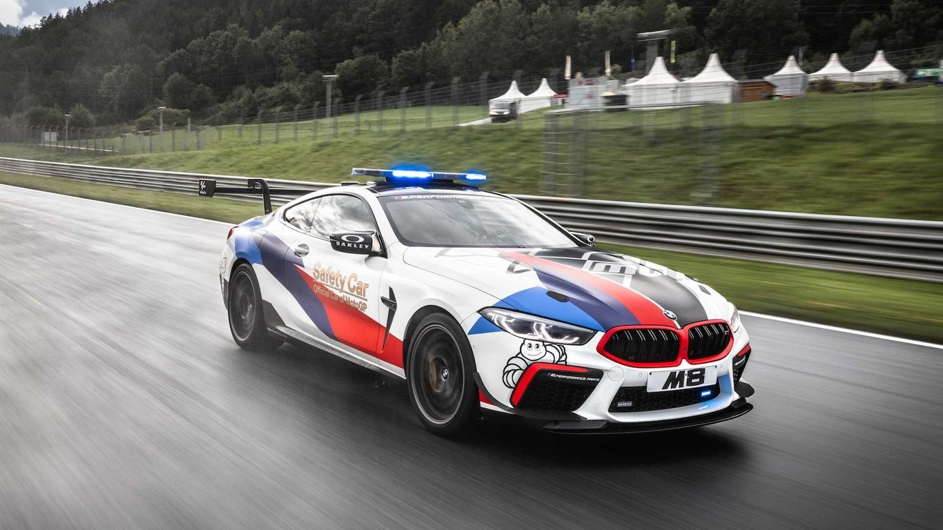 Así es el BMW M8 Moto GP Safety Car, una bestia para seguir en cualquier pista