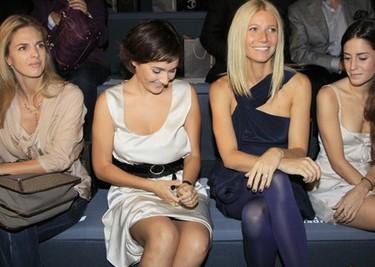 Gwyneth Paltrow se pasa por Cibeles