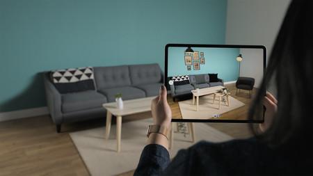 iPad Pro LIDAR con realidad aumentada
