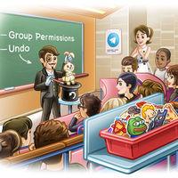 Deshacer borrado de historial, grupos de 200.000 miembros y filtros: Telegram se actualiza en iOS