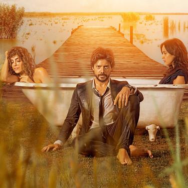 """Algo nos dice que el nuevo thriller romántico de Movistar+, """"El embarcadero"""", es ideal para disfrutar este fin de semana"""