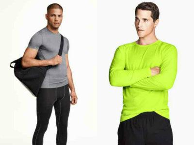 Futurista y práctica, así es la colección sport de H&M para el otoño-invierno 2015/2016
