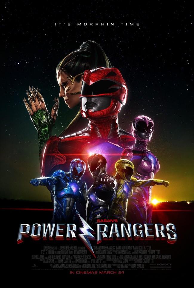 Power Rangers nuevo póster