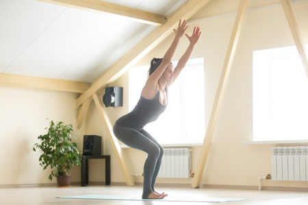 Image result for postura de la silla yoga