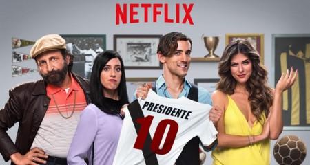 Segunda temporada de 'Club de Cuervos' y temporada completa para 'Grandfathered'