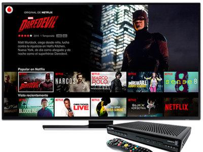 Netflix es la pieza maestra en el plan de Vodafone para contrarrestar a Movistar Fusión