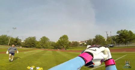 GoPro nos enseña el punto de vista de un equipo de fútbol de élite