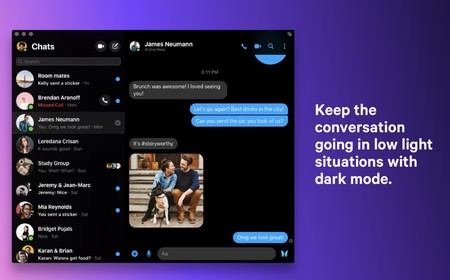 Facebook Messenger Macos 2