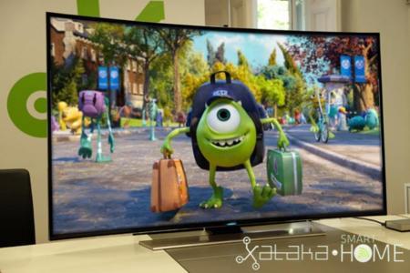 "Samsung UE65HU8500Z 65"" Curvo UHD Smart TV, análisis"