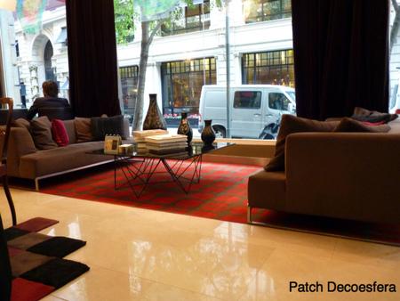 Vista del vestíbulo del hotel Le Meridien Barcelona