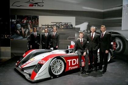 Presentado el Audi R10 TDI 2007