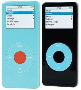 iPod nano de colores protegido contra ralladas