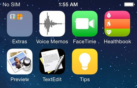 Se filtran las primeras capturas de iOS 8, la próxima actualización del sistema operativo móvil de Apple