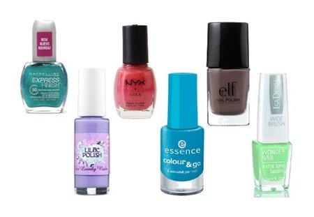 ¿Qué son los esmaltes de uñas 3, 4 y 5-<em>Free</em>? Marcas baratas y de gama media (II)