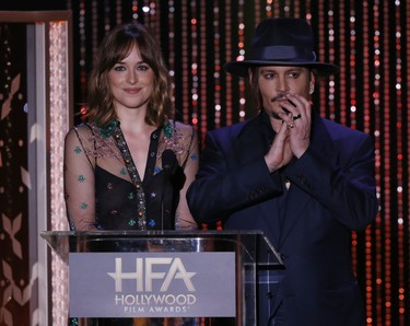 Hollywood Film Awards 2015: tocaba alfombra roja