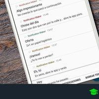 Cómo desactivar las notificaciones de tus aplicaciones en Android