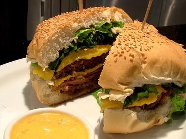 Hamburguesa de patata para la India