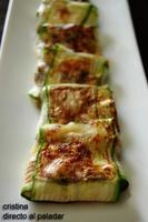 Raviolis de calabacín rellenos de shiitakes. Receta