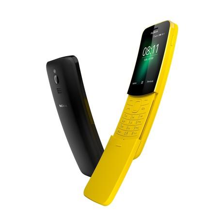 El legendario Nokia 8110 está de vuelta: con 4G, Google Maps, Assistant y Facebook