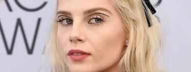 El premio al maquillaje más original va para Lucy Boynton en los SAG Awards 2019