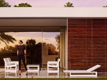 Esteve presenta la colección FRAME, un mobiliario de exterior diseñado con geometría, ligero y funcional