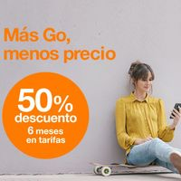 Orange Go Flexible, nueva tarifa móvil con 100 GB a consumir en seis meses