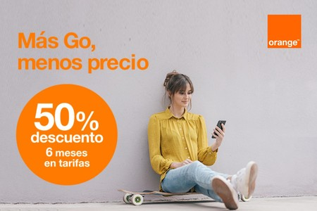 Orange Go Flexible, nueva tarifa móvil con 100 GB a consumir en seis meses