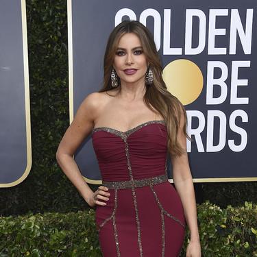 Sofía Vergara o cómo llevar un vestido de estilo 2000 una y otra vez a cualquier alfombra roja