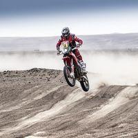 Dakar 2019: Ricky Brabec contraataca en la cuarta etapa para llevarse la victoria y el liderato