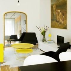Foto 3 de 4 de la galería un-salon-con-detalles-amarillos en Decoesfera