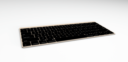 Keyboard Angle Gold 1