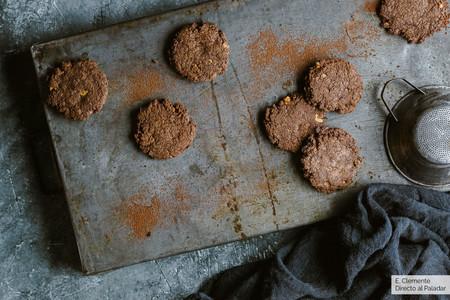Galletas de chocolate y cacahuetes