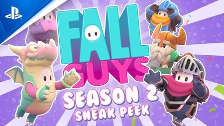 Fall Guys temporada 2: más escenarios, nuevos retos y trajes medievales para el battle royale de botargas