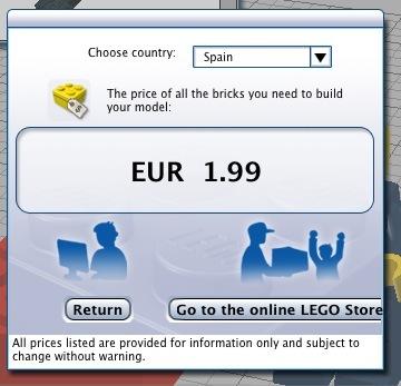 El precio de nuestro modelo