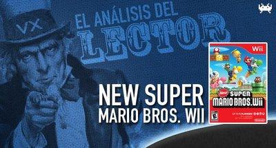 El análisis del lector: 'New Super Mario Bros. Wii'