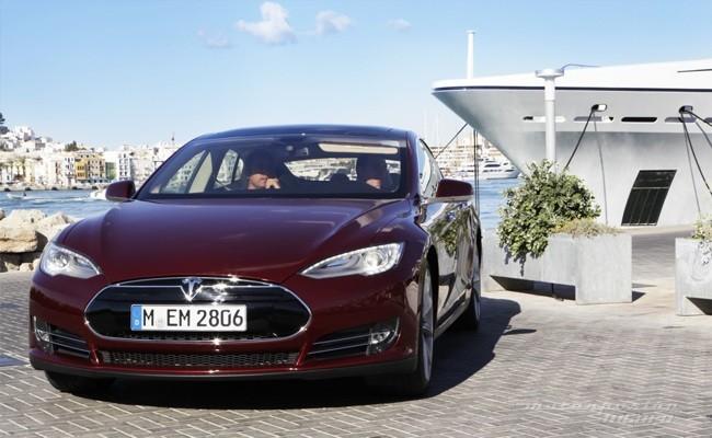 Tesla Model S prueba en Ibiza 04
