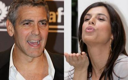 """George Clooney acude al hospital acompañado por su """"no novia"""""""