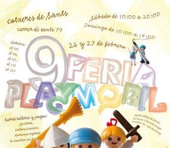 La 9ª Feria Nacional de clicks de Playmobil llega a Barcelona