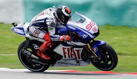 MotoGP Malasia 2010: Marc Márquez, Julián Simón y el martillo de Jorge Lorenzo