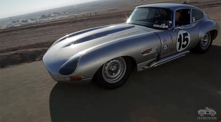 Jaguar E-Type de 1964, modificado para disfrutar