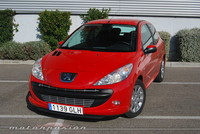 Peugeot 206+ 1.4i y HDi, prueba (parte 4)