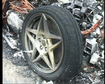 Ferrari 599 Ardiendo