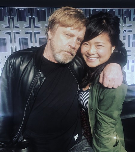 Mark Hamill y Kelly Marie Tran