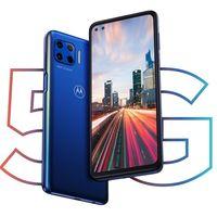 Moto g 5G Plus: nuevo diseño con doble agujero en pantalla a 90 Hz, sensor de huellas lateral, y 5G para la gama media