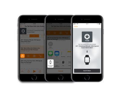 Con esta app podrás descargar podcasts para escucharlos en el Apple Watch sin importar el reproductor que utilices