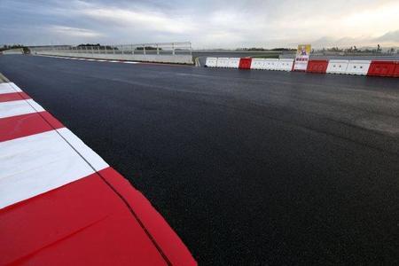 El Circuito de Yeongam al menos ya tiene la pista terminada
