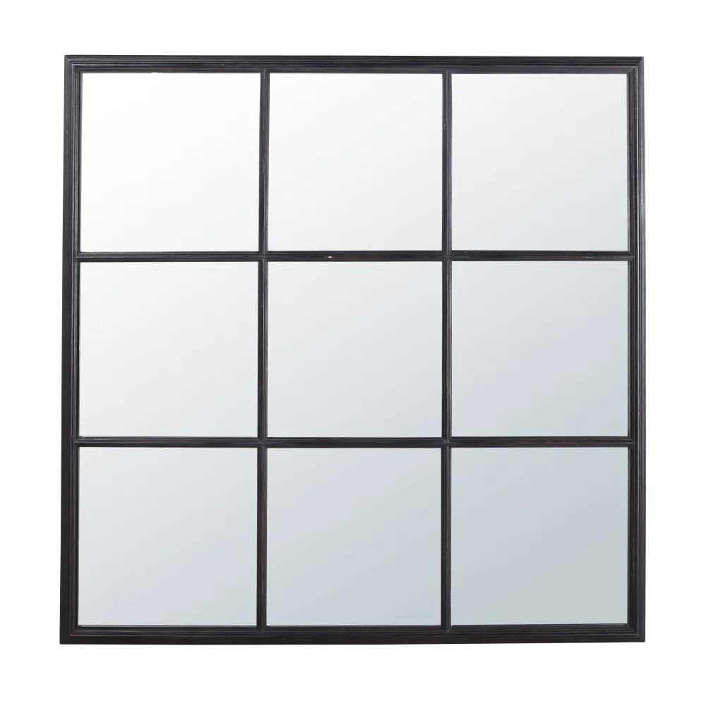 James.- Espejo negro 118x118