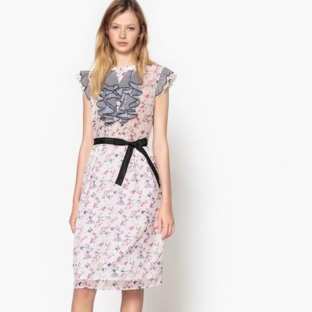 70% de descuento en este  vestido de flores de Madmoiselle R: ahora cuesta 17,99 euros en La Redoute