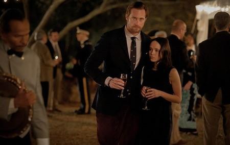 Alexander Skarsgard y Ellen Page